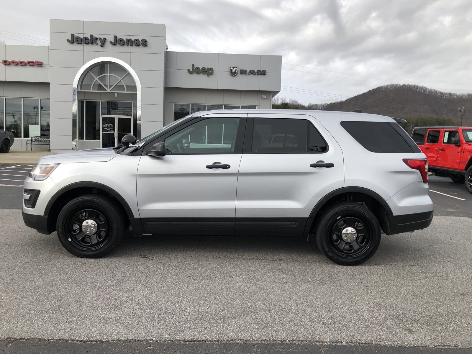 Pre-Owned 2018 Ford Police Interceptor Utility AWD