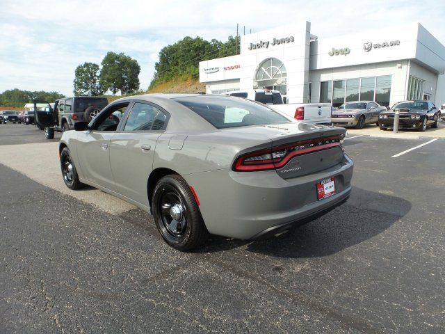 PRE-OWNED 2019 DODGE CHARGER POLICE RWD 4DR CAR