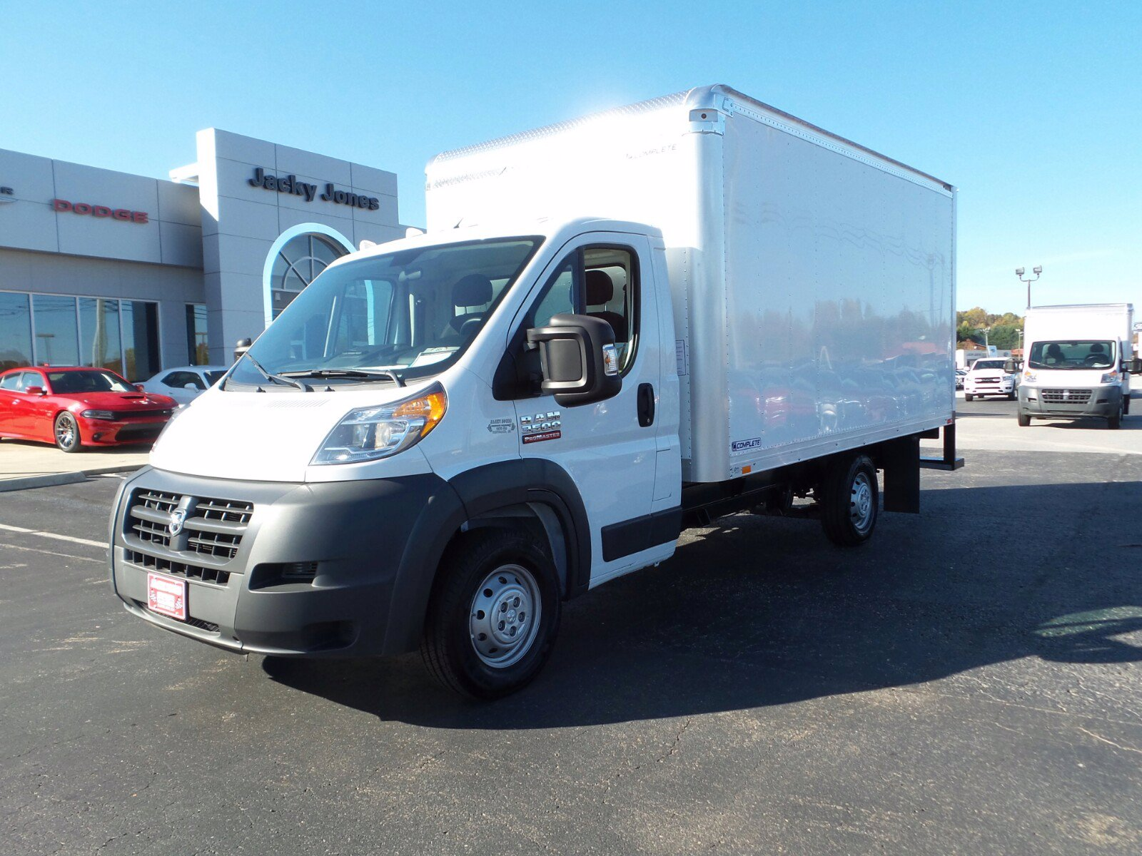 Pre-Owned 2015 Ram ProMaster Low Roof