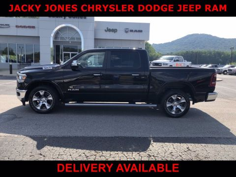 Pre-Owned 2019 Ram 1500 Laramie With Navigation & 4WD