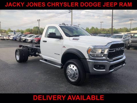 New 2019 RAM 4500 Chassis Cab Tradesman 4x2 Regular Cab